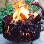 Corten outdoor fire pit - Weather Resistant Steel