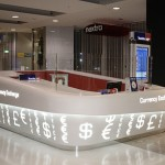 Travelex, Transform Retail, Glacier White
